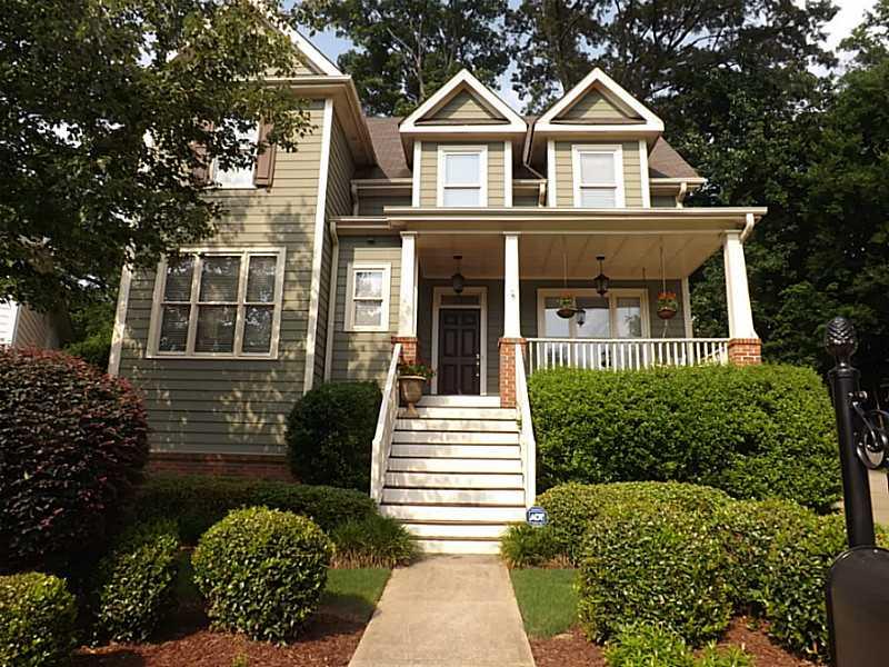 Atlanta craftsman style homes in adams crossing real for Craftsman style home builders atlanta